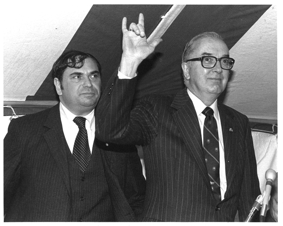 Howard Phillips and Sen. Jesse Helms